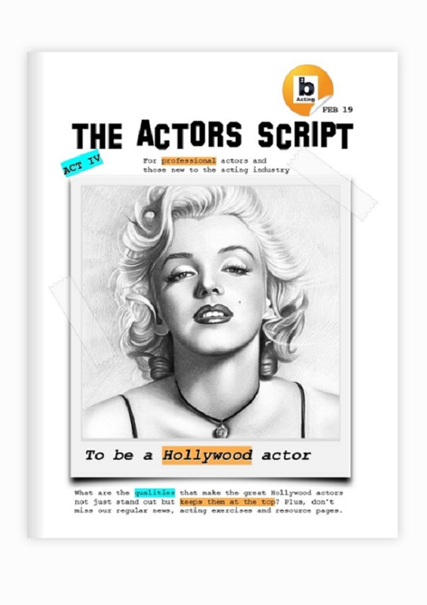The actors script